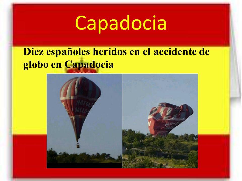 Capadocia Diez españoles heridos en el accidente de globo en Capadocia