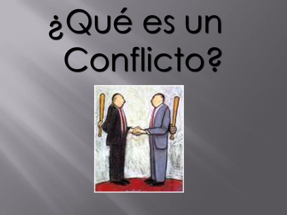 ¿Qué es un Conflicto Importancia de las pautas de interacción que todos deben comprometerse a mantener durante todo el taller.