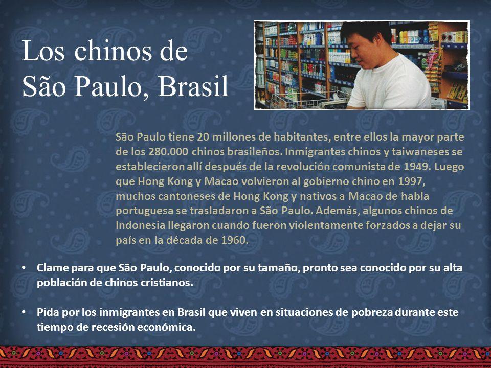 Los chinos de São Paulo, Brasil