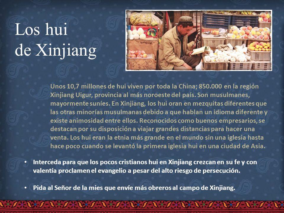 Los hui de Xinjiang.