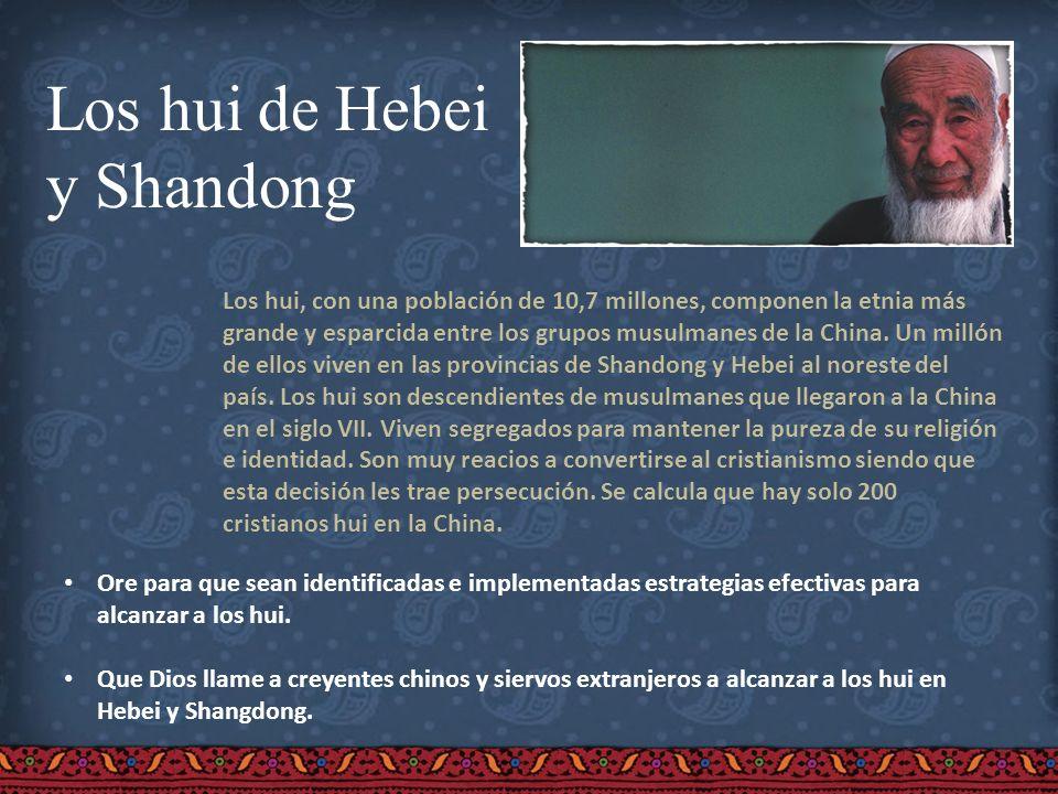 Los hui de Hebei y Shandong