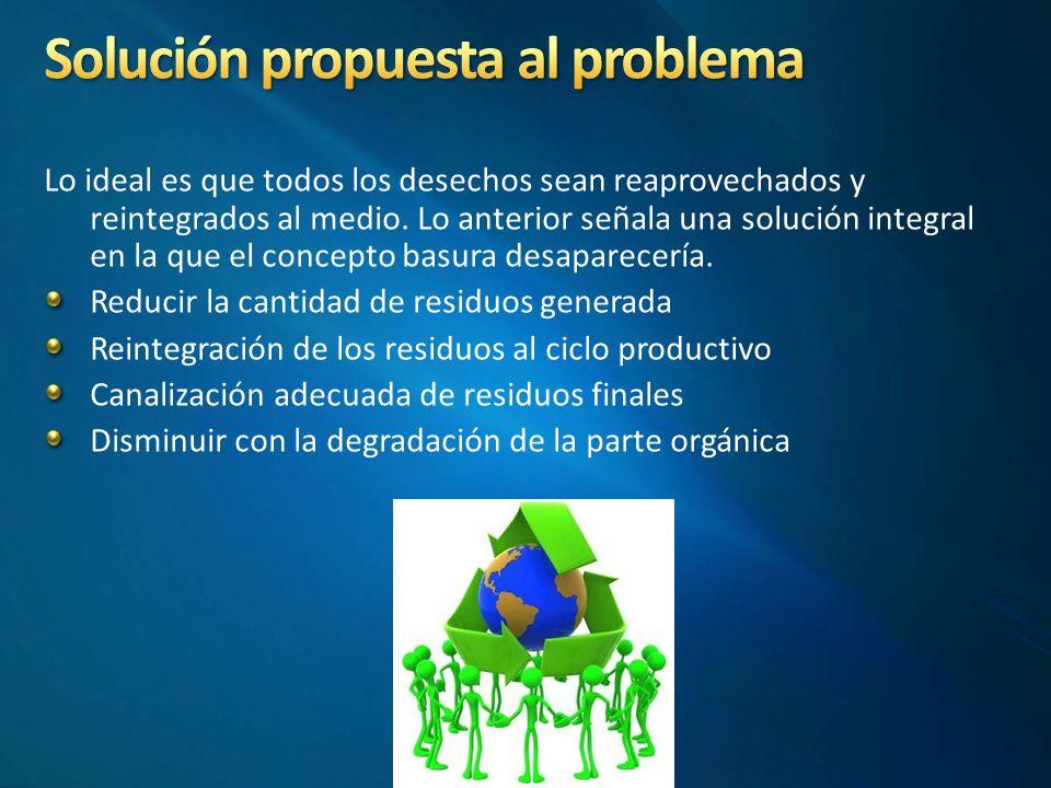 Solución propuesta al problema