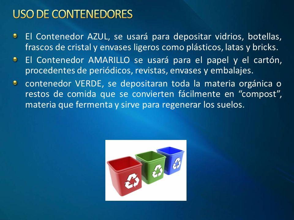 USO DE CONTENEDORES
