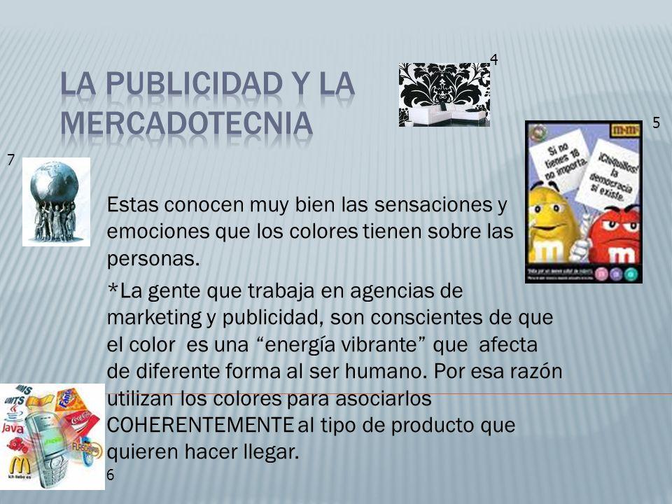 La publicidad y la mercadotecnia