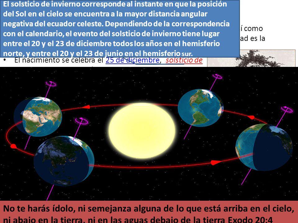 El solsticio de invierno corresponde al instante en que la posición del Sol en el cielo se encuentra a la mayor distancia angular negativa del ecuador celeste. Dependiendo de la correspondencia con el calendario, el evento del solsticio de invierno tiene lugar entre el 20 y el 23 de diciembre todos los años en el hemisferio norte, y entre el 20 y el 23 de junio en el hemisferio sur.