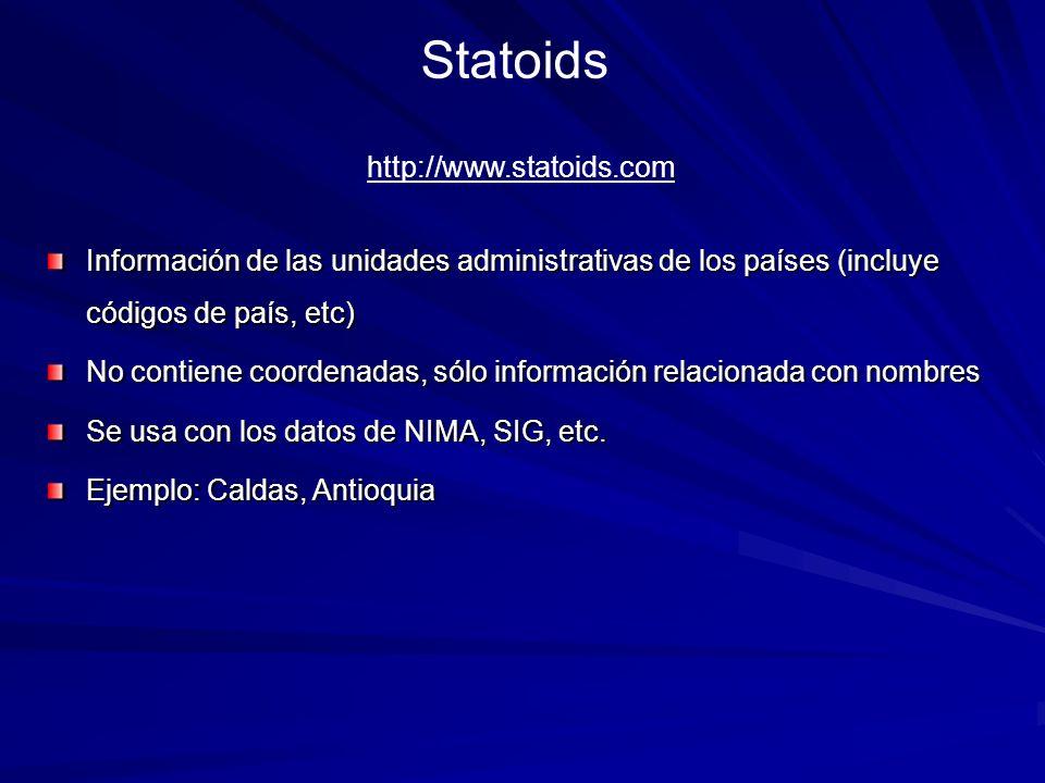 Statoids http://www.statoids.com
