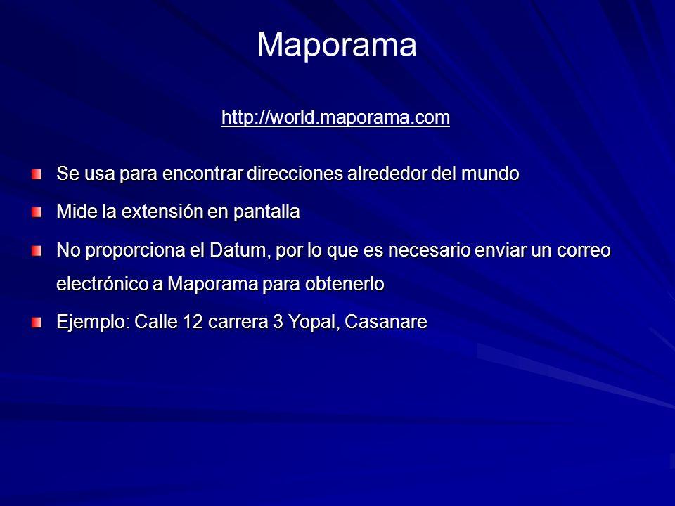 Maporama http://world.maporama.com