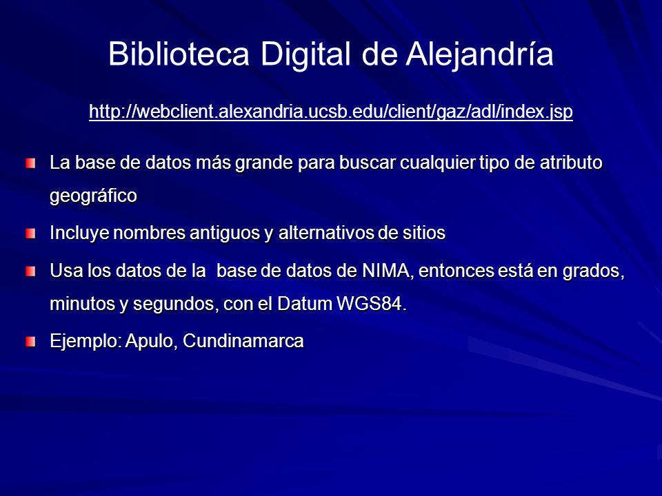 Biblioteca Digital de Alejandría