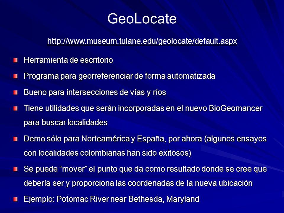 GeoLocate http://www.museum.tulane.edu/geolocate/default.aspx