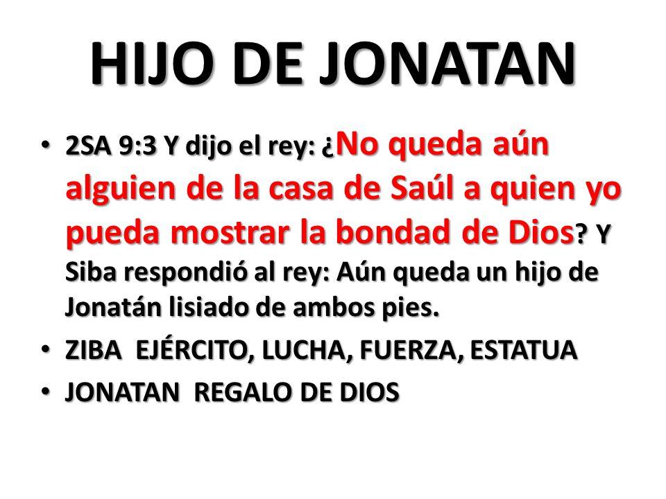 HIJO DE JONATAN