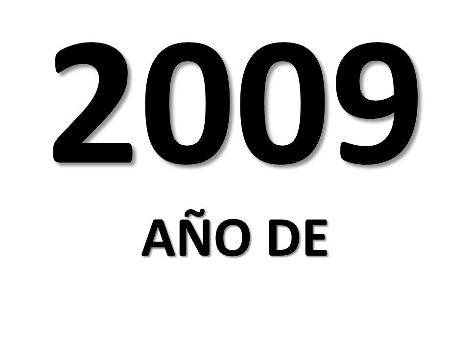 2009 AÑO DE