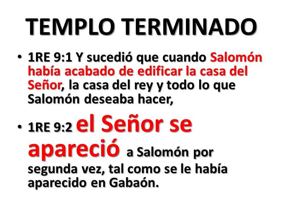 TEMPLO TERMINADO