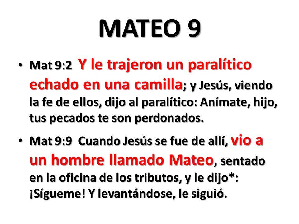MATEO 9