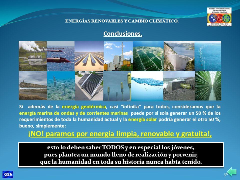 ¡NO! paramos por energía limpia, renovable y gratuita!,