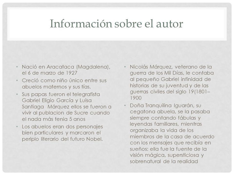 Información sobre el autor