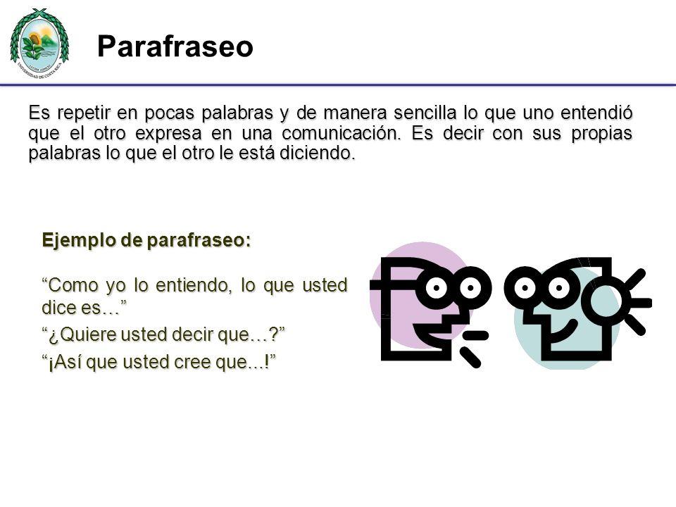 Parafraseo