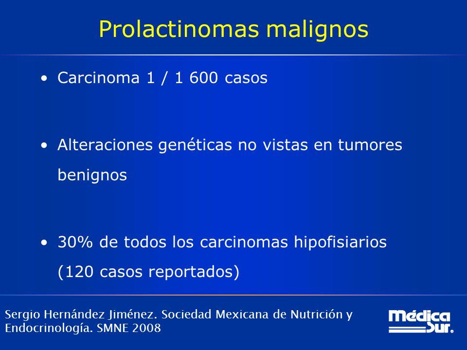 Prolactinomas malignos