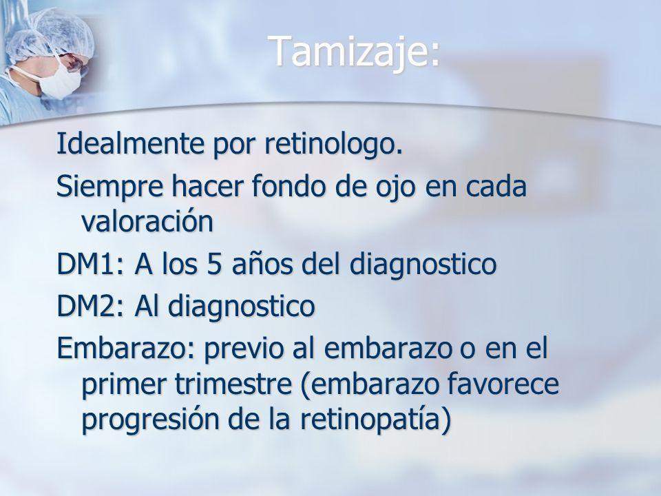 Tamizaje: