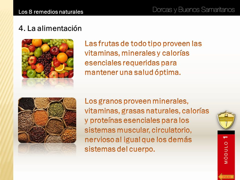 Los 8 remedios naturales