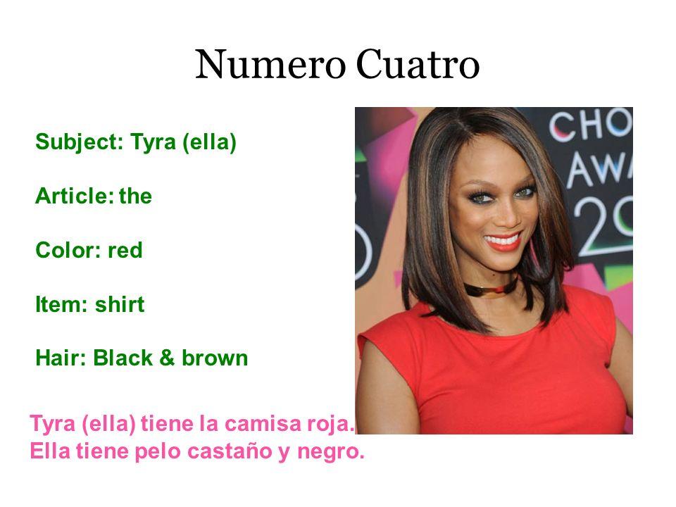 Numero Cuatro Subject: Tyra (ella) Article: the Color: red Item: shirt