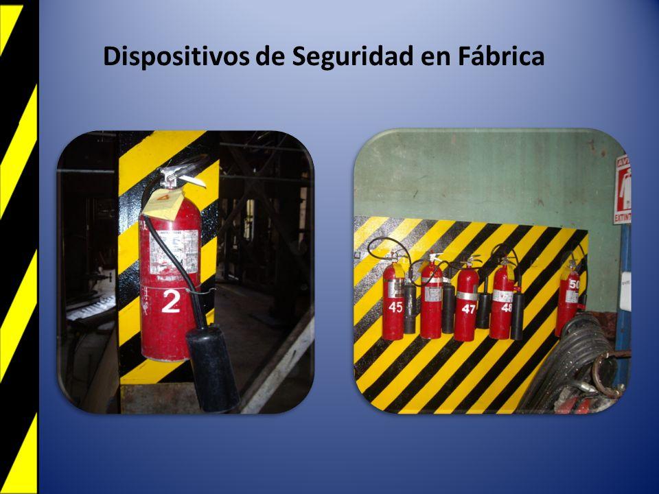 Dispositivos de Seguridad en Fábrica