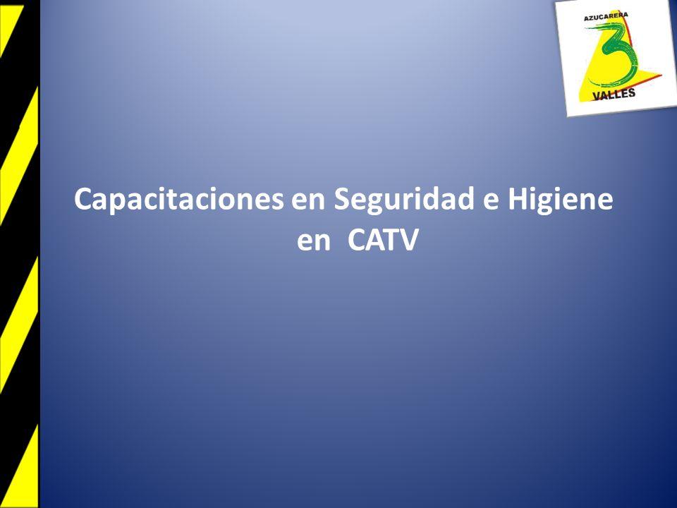 Capacitaciones en Seguridad e Higiene en CATV