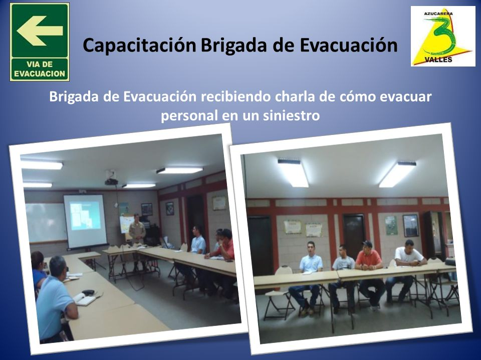 Capacitación Brigada de Evacuación