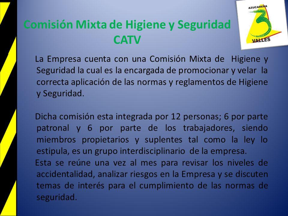 Comisión Mixta de Higiene y Seguridad CATV