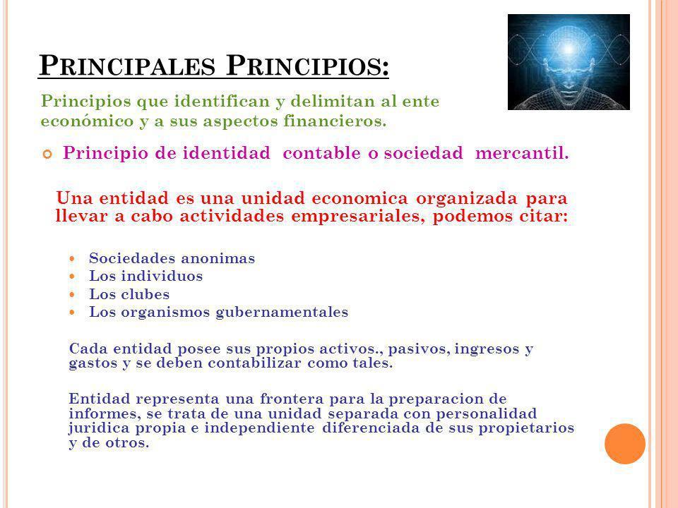 Principales Principios: