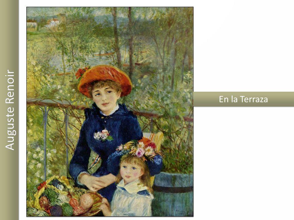 En la Terraza Auguste Renoir