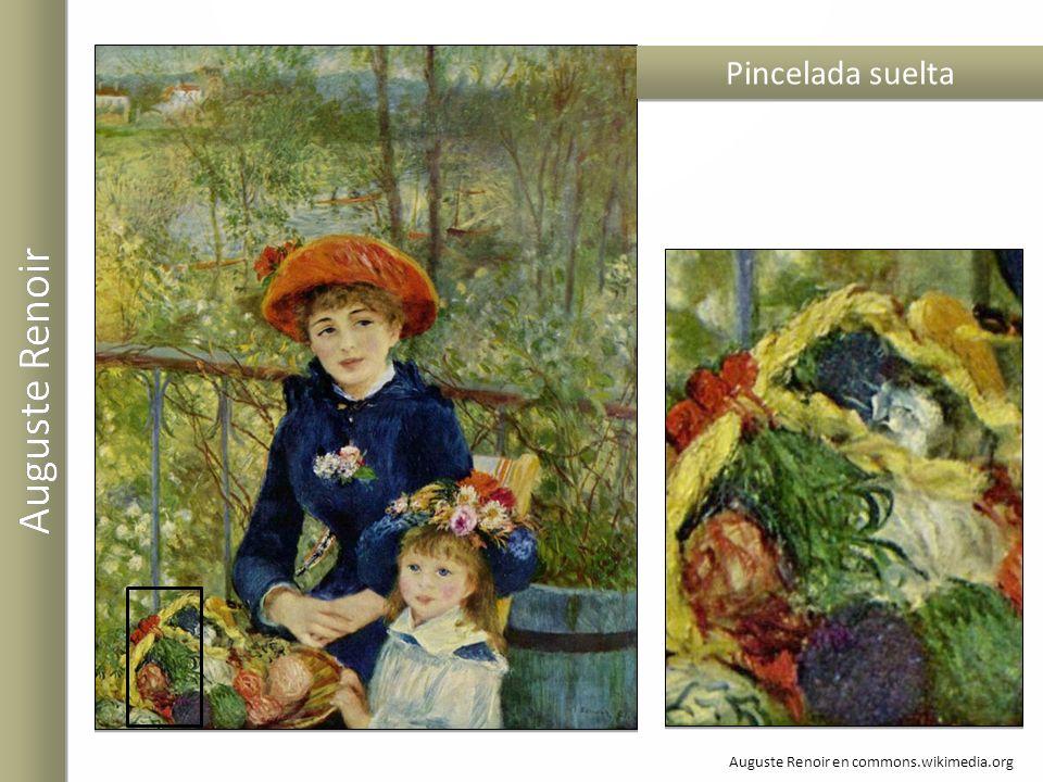 Auguste Renoir Pincelada suelta