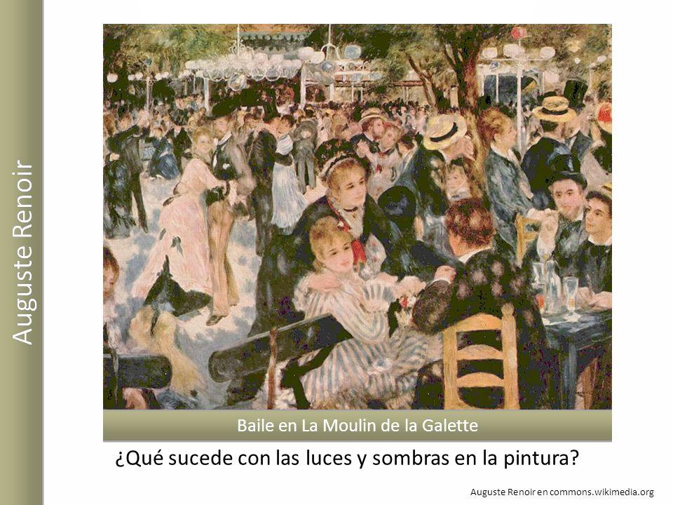 Auguste Renoir ¿Qué sucede con las luces y sombras en la pintura