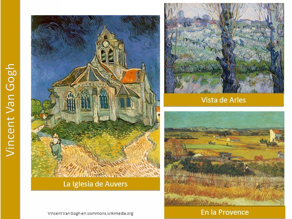 Vincent Van Gogh Vista de Arles La Iglesia de Auvers En la Provence