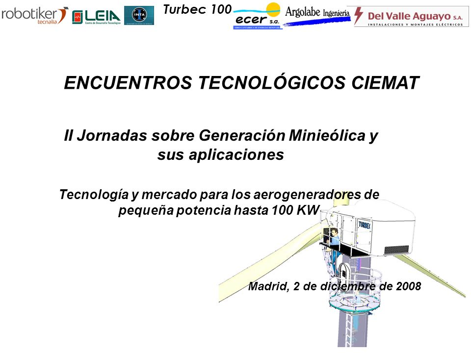 ENCUENTROS TECNOLÓGICOS CIEMAT