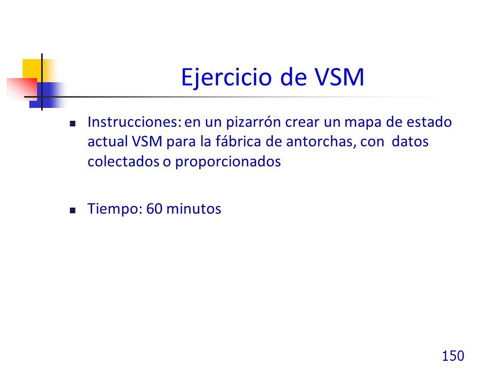 Ejercicio de VSM