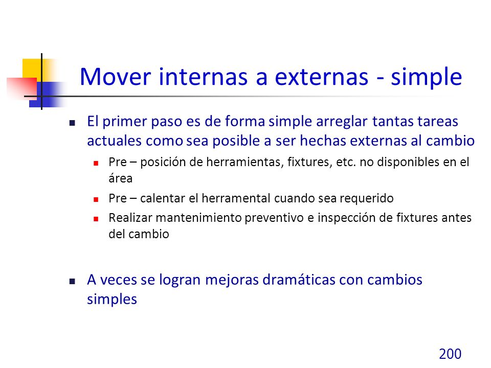 Mover internas a externas - simple