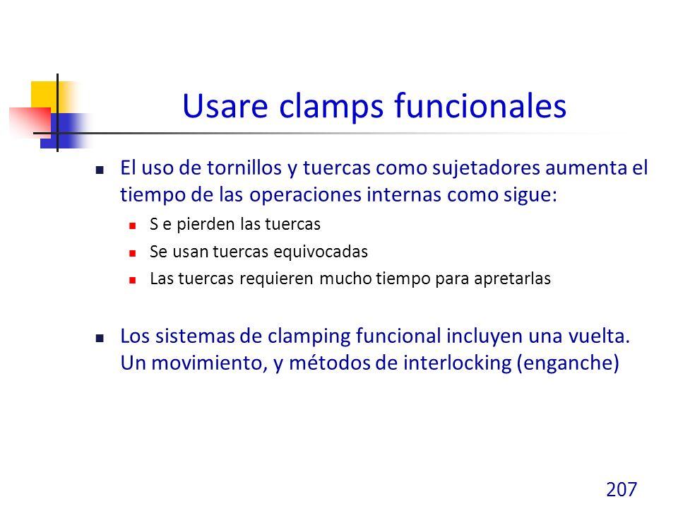 Usare clamps funcionales