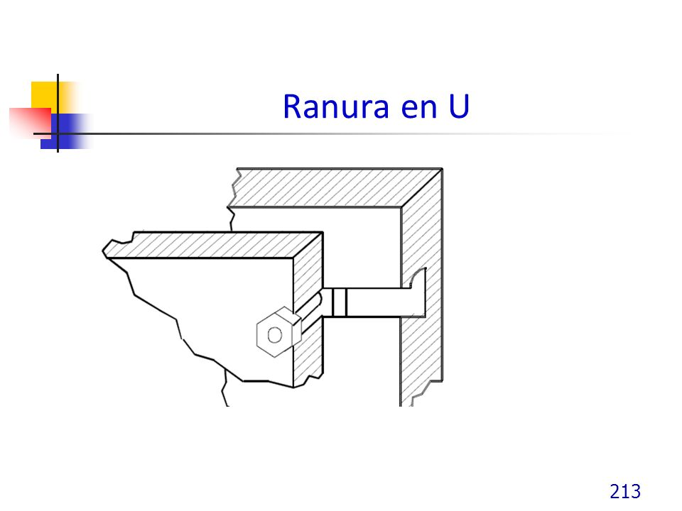 Ranura en U