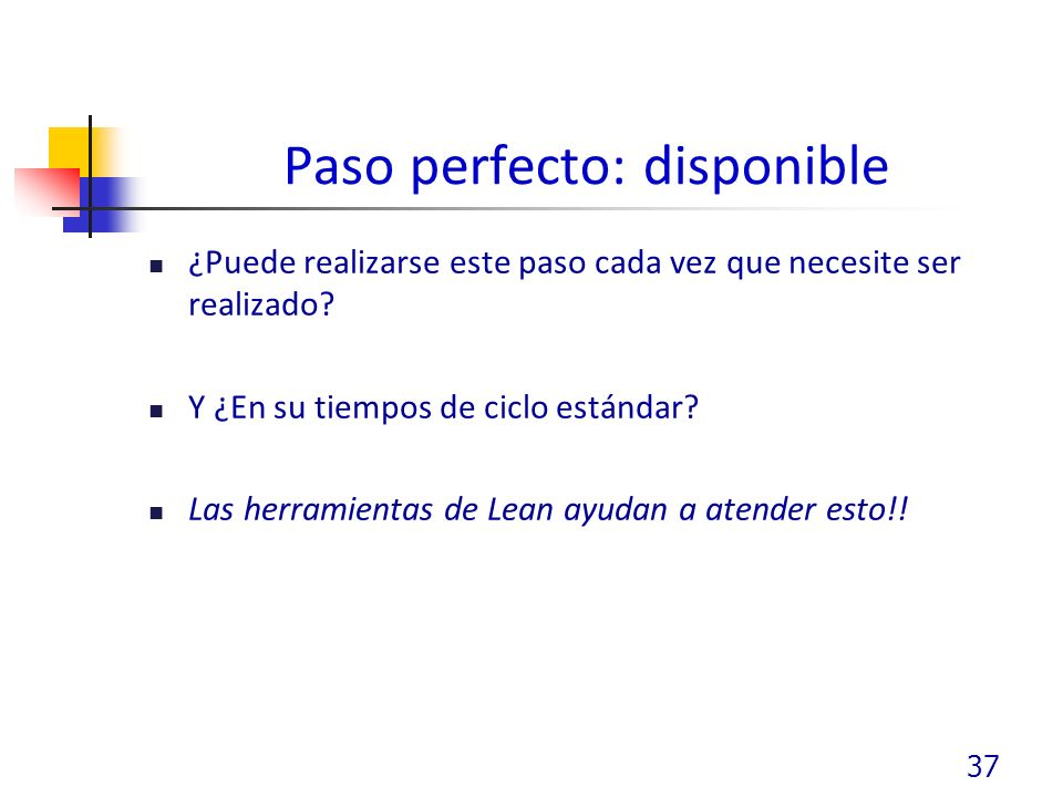 Paso perfecto: disponible
