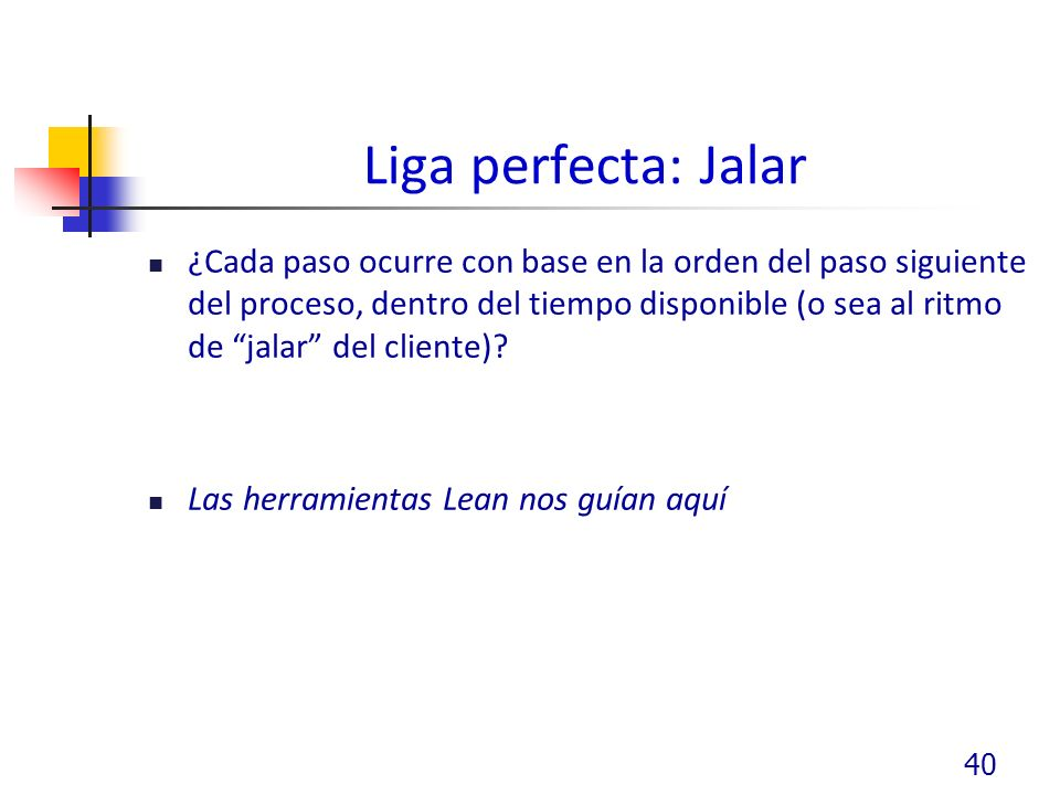 Liga perfecta: Jalar