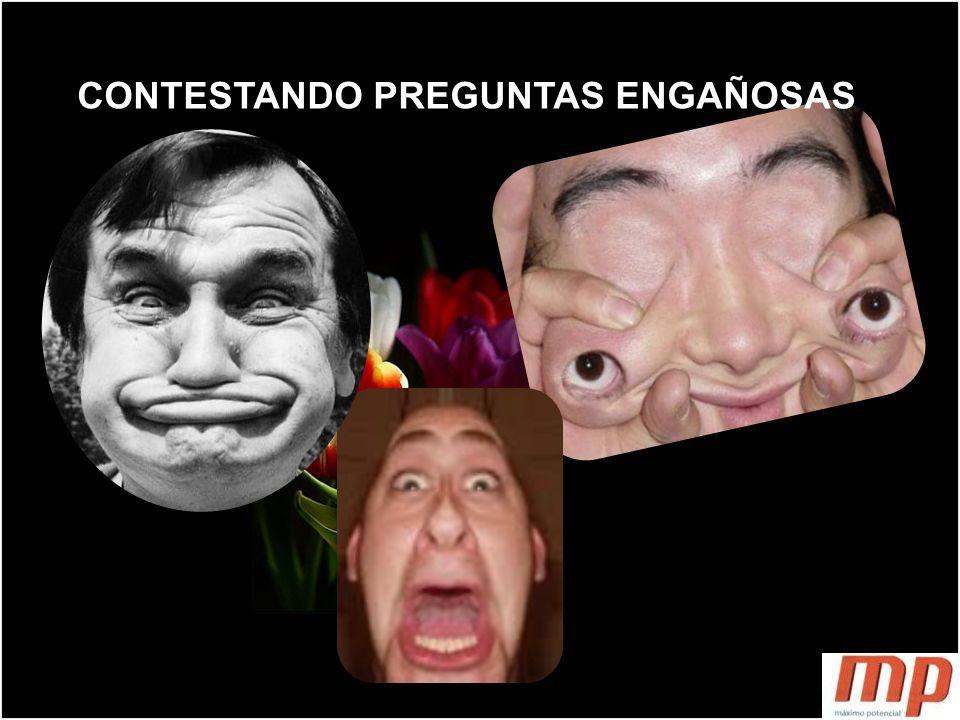 CONTESTANDO PREGUNTAS ENGAÑOSAS