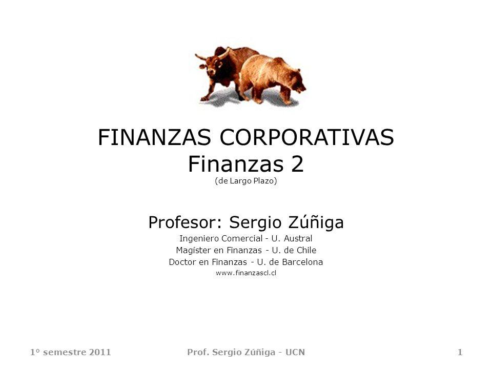 FINANZAS CORPORATIVAS Finanzas 2 (de Largo Plazo)