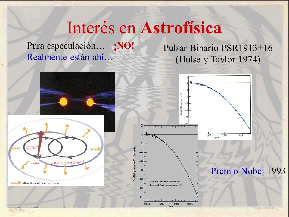 Interés en Astrofísica