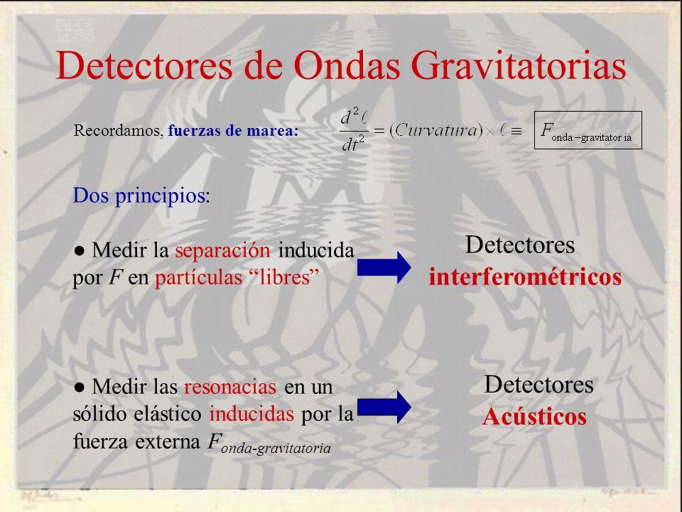 Detectores de Ondas Gravitatorias
