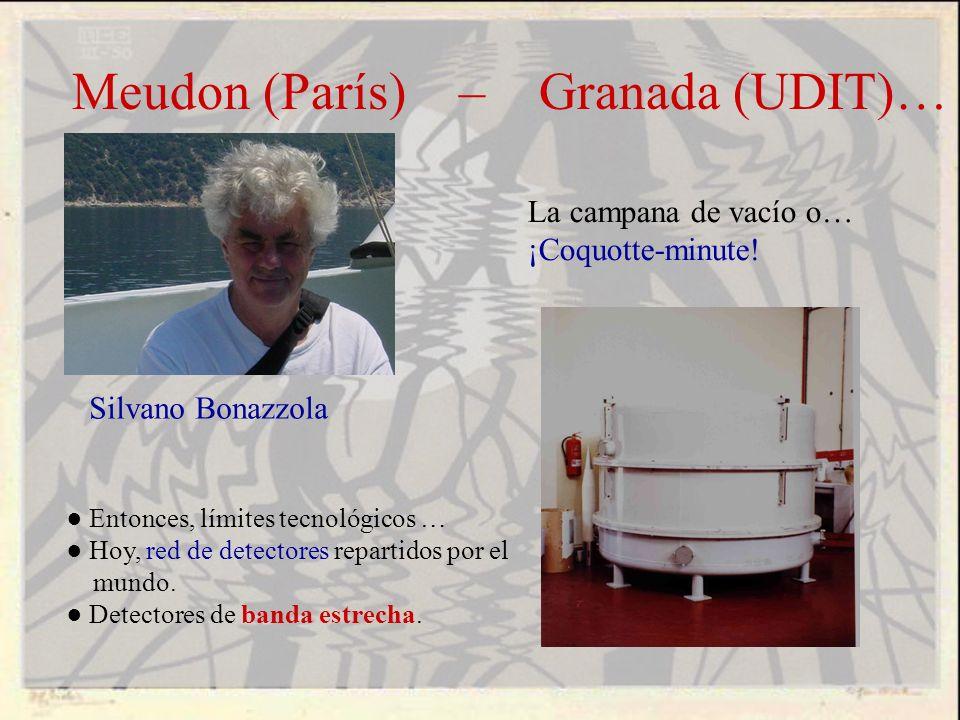 Meudon (París) – Granada (UDIT)…