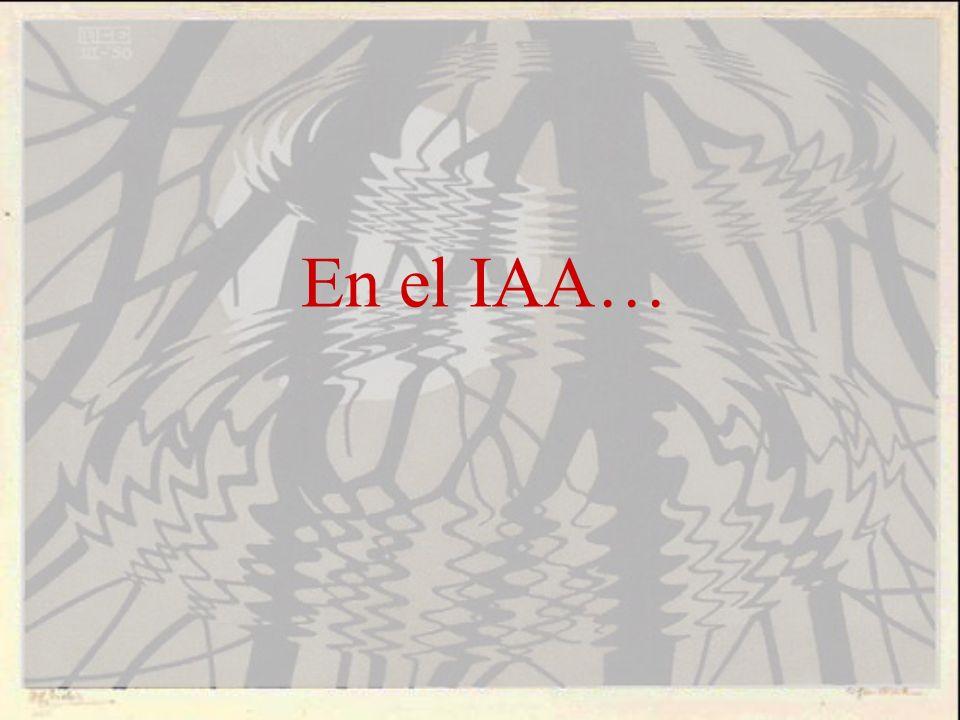 En el IAA…