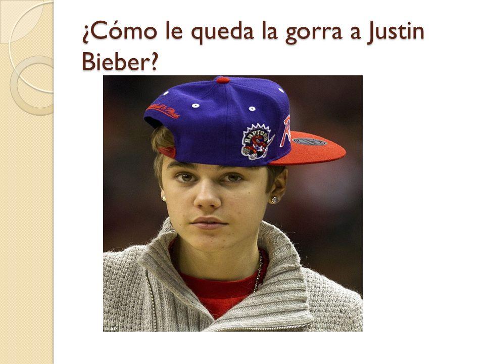 ¿Cómo le queda la gorra a Justin Bieber