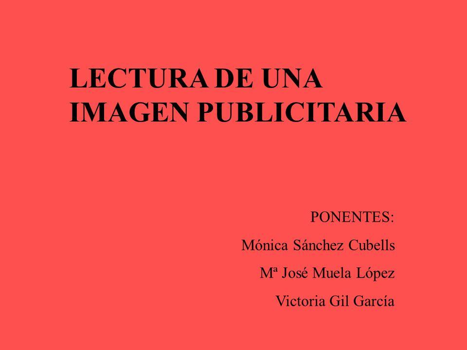 LECTURA DE UNA IMAGEN PUBLICITARIA