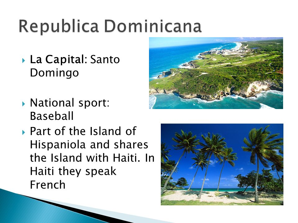 Republica Dominicana La Capital: Santo Domingo