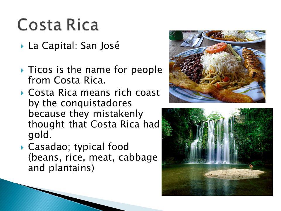 Costa Rica La Capital: San José